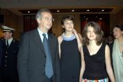 Gioia Botteghi/OMEGA 29/04/05Premio David Di DonatelloVeltroni con le figlie