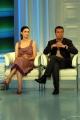 Gioia Botteghi/OMEGA 18/05/05Porta a Porta puntata sul film tv EDDA CIANO LA FIGLIA DEL DUCEnelle foto: Alessandra Martinez e Massimo Ghini
