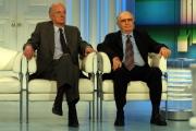Gioia Botteghi/OMEGA 18/05/05Porta a Porta puntata sul film tv EDDA CIANO LA FIGLIA DEL DUCEnelle foto: Nicola Caracciolo e Romano Mussolini