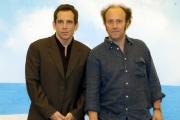 Gioia Botteghi/OMEGA 15/06/05Conferenza stampa del film MADAGASCARnelle foto:Alex ( Alessandro Besentini) che dalla la voce al leone Alex e Ben Stiller nella versione Americana