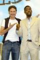 15/06/05Conferenza stampa del film MADAGASCARnelle foto:Francesco Villa detto Franz da la voce al leone Marty e l'attore Amricano Chris Rock