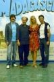 15/06/05Conferenza stampa del film MADAGASCARnelle foto:Fabio de Luigi Besentini Alex e Franz e Michelle Hunziker i doppiatori italiani