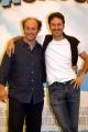 Gioia Botteghi/OMEGA 15/06/05Conferenza stampa del film MADAGASCARnelle foto:Alex e Franz Alessandro Besentini e Francesco Villa che dalla la voce al leone Alex e alla Zebra Marty