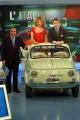 Gioia Botteghi/OMEGA    Porta aporta del 22-11-04Lapo Elkan festeggia i 50 anni della 500 ,Eva Erzigova