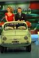 Gioia Botteghi/OMEGA    Porta aporta del 22-11-04Lapo Elkan festeggia i 50 anni della 500 ed Eva Erzigova