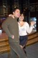 Ballando con le Stelle,Raiuno Presenta Milly Carlucci,nelle foto:Anna Maria Barbera con il ballerino Ilario Parise