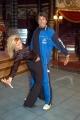 Ballando con le Stelle,Raiuno Presenta Milly Carlucci,nelle foto:Gianni Ippoliti con la ballerina Valentina Vincenti