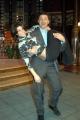 Ballando con le Stelle,Raiuno Presenta Milly Carlucci,nelle foto:Fabrizio Frizzi con la ballerina Samanta Togni