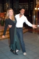 Ballando con le Stelle,Raiuno Presenta Milly Carlucci,nelle foto:Paola Ferrari con il ballerino Andrea Placidi