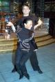 Ballando con le Stelle,Raiuno Presenta Milly Carlucci,nelle foto:Francesco Salvi con la ballerina Natalia Titova