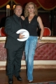 Gioia Botteghi/OMEGA 15/09/05 Conferenza stampa della trasmissione BALLANDO CON LE STELLE, nelle foto: Milly Carlucci  con Paolo Belli
