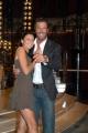 Gioia Botteghi/OMEGA 15/09/05 Conferenza stampa della trasmissione BALLANDO CON LE STELLE, nelle foto:Mario Cipollini e Marina Alehseyeva