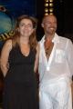 Gioia Botteghi/OMEGA 15/09/05 Conferenza stampa della trasmissione BALLANDO CON LE STELLE, nelle foto:Francesca Reggiani e Sergio Clauco Sampaoli