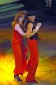 Gioia Botteghi/OMEGA 17/09/05 Ballando con le stelle raiuno  Francesca Reggiani e Sergio Glauco Sampaoli