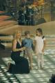 Gioia Botteghi/OMEGA 24/09/05 Ballando con le stelle Federico Russo attore con la sua insegnante partecipa al concorso
