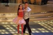 Gioia Botteghi/OMEGA 24/09/05 Ballando con le stelle Benedetta Gargari attrice balla con il suo insegnante e partecipa al concorso