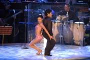 Gioia Botteghi/OMEGA 24/09/05 Ballando con le stelle Maradona balla con Angela Panico