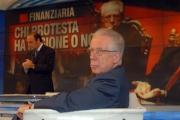 Gioia Botteghi/OMEGA 18/12/06Porta a Porta puntata del 18/12/06 ospite il ministro Tommaso Padoa Schioppa