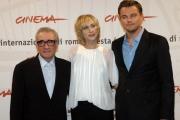 Gioia Botteghi/OMEGA 15/10/06Festa del cinema di Roma presentazione del Film The Departed nelle foto: Martin Scorsese, Leonardo DiCaprio, Vera Farmiga