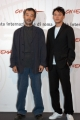 Gioia Botteghi/OMEGA 15/10/06Festa del cinema di Roma presentazione del Film The Go Master nelle foto:  Chang Chen, Tian Zhuangzhuang (regista)