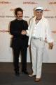 Gioia Botteghi/OMEGA 15/10/06Festa del cinema di Roma presentazione del Film La vera leggenda di Tony Vilar,  nelle foto: Tony Vilar  e l'attore Peppe Voltarelli