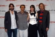 Festa del cinema di Roma4° giornata presentazione del film  Alatriste nelle foto:  Viggo Mortensen, Eduardo Noriega, Ariadna Gil Enrico Loverso