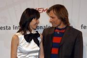 Festa del cinema di Roma4° giornata presentazione del film  Alatriste nelle foto:   Viggo Mortensen    Ariadna Gil