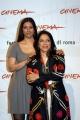 Festa del cinema di Roma4° giornata presentazione del film The Namesake  nelle foto:   Mira Nair regista, Tabu attrice