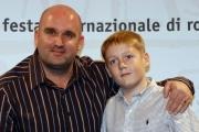 Gioia Botteghi/OMEGA 18/10/06Festa del cinema di Roma 6° giornata  presentazione del film -This is England- nelle foto:  il regista Shane Meadows, Thomas Turgoose