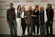 Gioia Botteghi/OMEGA 20/10/06Festa del cinema 8° giornata presentazione del film - A casa nostra - nelle foto: Il cast