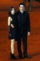 Gioia Botteghi/OMEGA 20/10/06red Carpet per il film A casa Nostra, nelle foto l'attore Luca Argenterio e la fidanzata Miriam