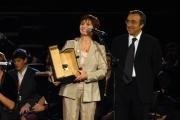 2006-10-21  Festa del cinema di Roma i vincitori: Ariane Ascaride - Le Voyage en Arménie con Silvio Orlando Foto: Gioia Botteghi