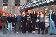 Gioia Botteghi/OMEGA 13/11/06Presentazione del film per Canale 5 CODICE ROSSOnelle foto tutto il cast