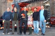 Gioia Botteghi/OMEGA 13/11/06Presentazione del film per Canale 5 CODICE ROSSOnelle foto i protagonisti del film