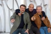 Gioia Botteghi/OMEGA 21/11/06presentazione del film ANPLAGGHED AL CINEMA nelle foto: Aldo Giovanni e Giacomo