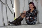21/11/06presentazione del film ANPLAGGHED AL CINEMA nelle foto: Silvana fallisi