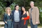 Gioia Botteghi/OMEGA 24/11/06presentazione del film NATIVITYnelle foto :  La regista Catherine Hardwicke    Oscar Isaac Shohreh Agdasloo, Mike Rich sceneggiatore