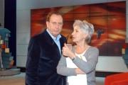 Gioia Botteghi/OMEGA 25/11/06ELISIR rai tre a partire da domenica 26/11/06nelle foto: Michele Mirabella  con la regista Patrizia Belli