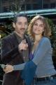 Gioia Botteghi/OMEGA 27/11/06Presentazione della serie televisiva CRIMINI su raidue, nelle foto gli attori della prima puntata: Claudia Zanella  con Beppe Fiorello