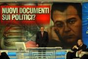 Gioia Botteghi/OMEGA 5/12/06PORTA A PORTA puntata del 5-12_06 nelle foto:  il senatore Andreotti