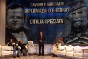 Gioia Botteghi /OMEGA 12/12/06puntata speciale di P.zza Grande su raidue con porta a porta imitato ma con lo stesso conduttore gli intervistati Cavour (Magalli) e Garibaldi (Mirabella)