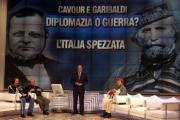 Gioia Botteghi /OMEGA 12/12/06puntata speciale di P.zza Grande su raidue con porta a porta imitato ma con lo stesso conduttore gli intervistati  Garibaldi (Mirabella)  Cavour (Magalli)  Vespa