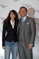 Gioia Botteghi/OMEGA 14/12/06Presentazione del fil CASINO' ROYALE nelle foto : Daniel Craig   con Caterina Murino