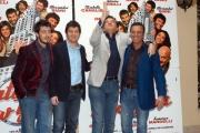 Gioia Botteghi/OMEGA 14/12/06presntazione del fil NATALE A NEW YORK nelle foto: Christian De Sica, Massimo Ghini, Paolo Ruffini, Fabio De Luigi