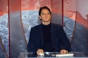 Gioia Botteghi/OMEGA 14/12/06Presentazione del nuovo direttore , Corradino Mineo e del nuovo studio di RAI NEWS 24, nelle foto: Alessandro Baracchini