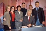 Gioia Botteghi/OMEGA 14/12/06Presentazione del nuovo direttore , Corradino Mineo e del nuovo studio di RAI NEWS 24, nelle foto i giornalisti