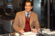 Gioia Botteghi/OMEGA 14/12/06Presentazione del nuovo direttore , Corradino Mineo e del nuovo studio di RAI NEWS 24, nelle foto: Salah Methnani primo giornalista arabo in video alla rai