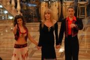 Gioia Botteghi/OMEGA 3/12/06 Puntata finale di BALLANDO CON LE STELLE nelle foto Biagio Izzo e   Samanta Togni