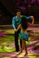 Gioia Botteghi/OMEGA 16/09/06 BALLANDO CON LE STELLE prima puntata, nelle foto: Tiberio Timperi con Elena Coniglio