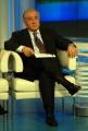 12/02/07 puntata di porta a porta in onda il 12701 nelle foto Dell'Utri con le pagine fotocopiate dei presunti diari di Mussolini